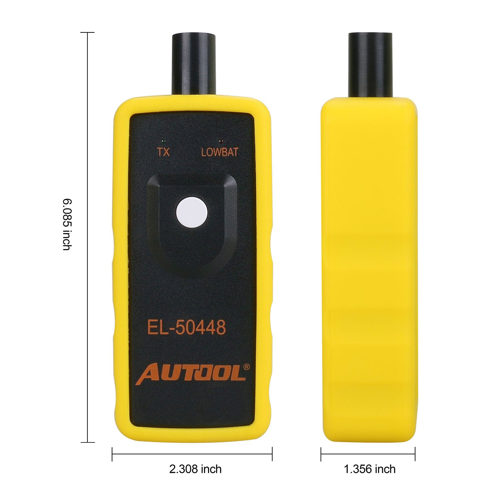 AUTOOL EL-50448 Auto Tire Pressure Monitor Sensor TPMS Activation Relearn Tool For GM Series Vehicles 315MHZ and 433MHZ