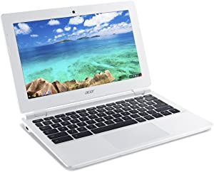 Acer Chromebook, 11.6-Inch, CB3-111-C670 (Intel Celeron, 2GB, 16GB SSD, White) Discontinued by Manufacturer