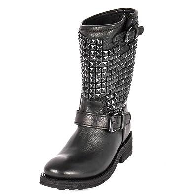 En Cuir Footwear Ash Bottes 36 NoirAmazon Cloutées Femme Trash yfvgYb76