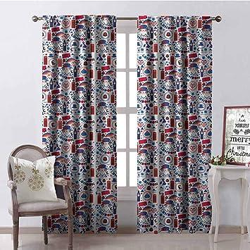 Amazon.com: Gloria Johnson London 99% cortinas opacas ...