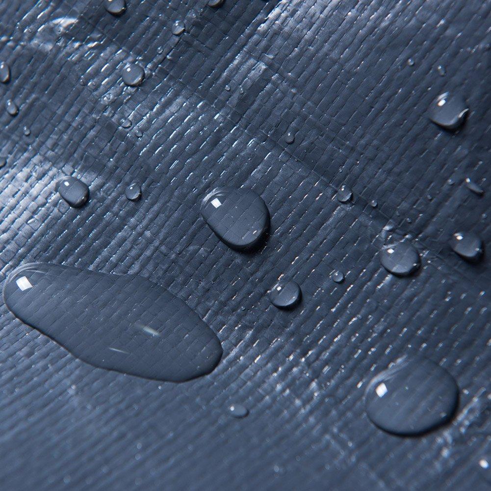 Abba Patio Grill Cover, resistente a la intemperie funda de tela de parrilla para barbacoa, color gris oscuro: Amazon.es: Jardín