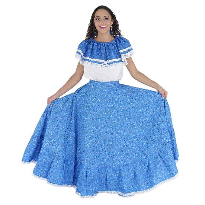 Amazon.com: Mexicana Clothing Co - Disfraz de Adelita ...