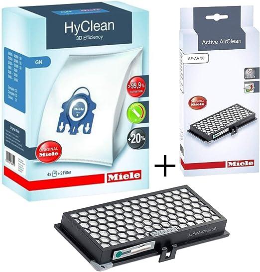 Miele SF-AA30 - Filtro de aire activo + bolsas GN para aspiradora C1 Classic Junior: Amazon.es: Hogar