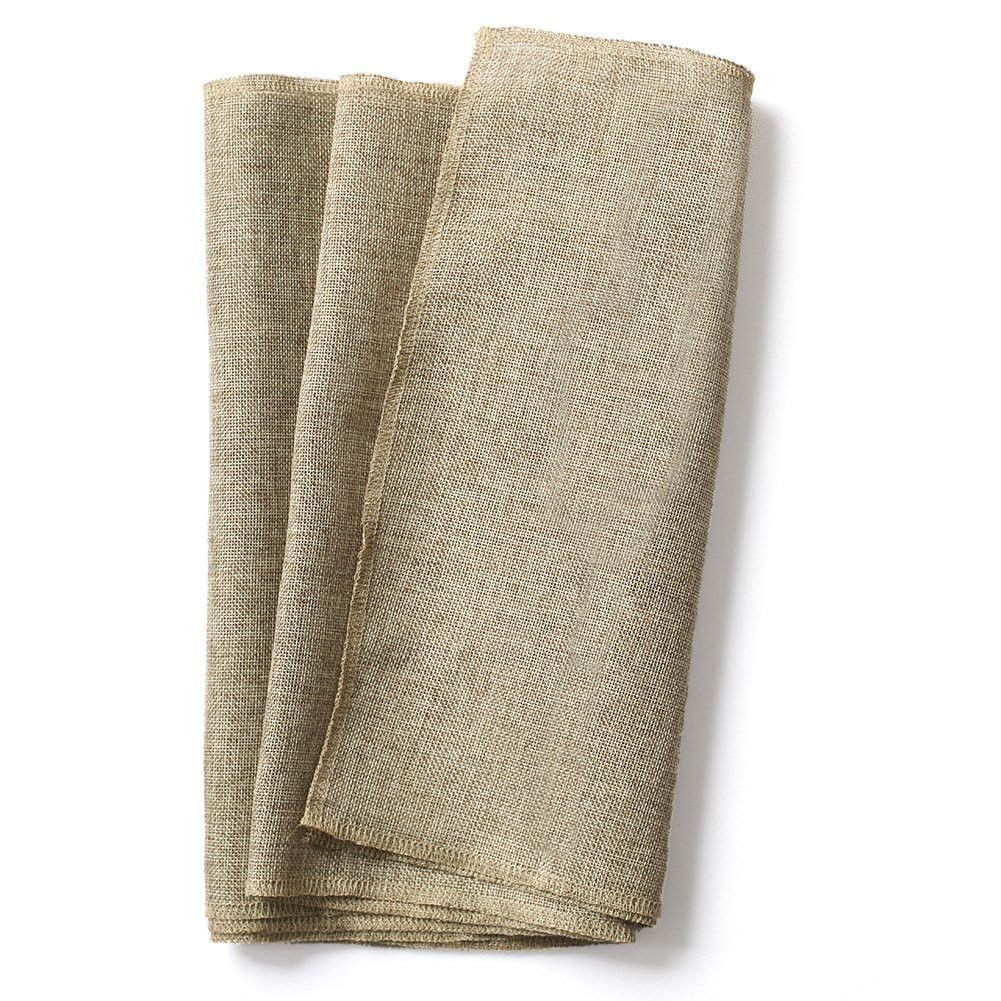 Ling's moment 14 x108 Inch Brown Burlap Linen Table Runner for Wedding Party Bridal Shower Baby Shower Home Decor Thanksgiving Christmas Fall Decorations