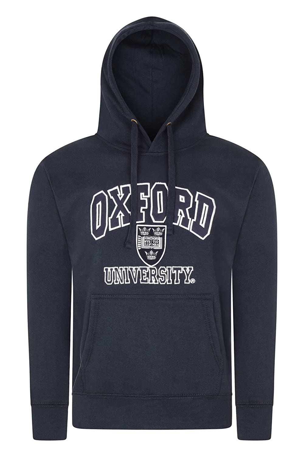 Oxford University Quality Embroidered Hooded Sweatshirt