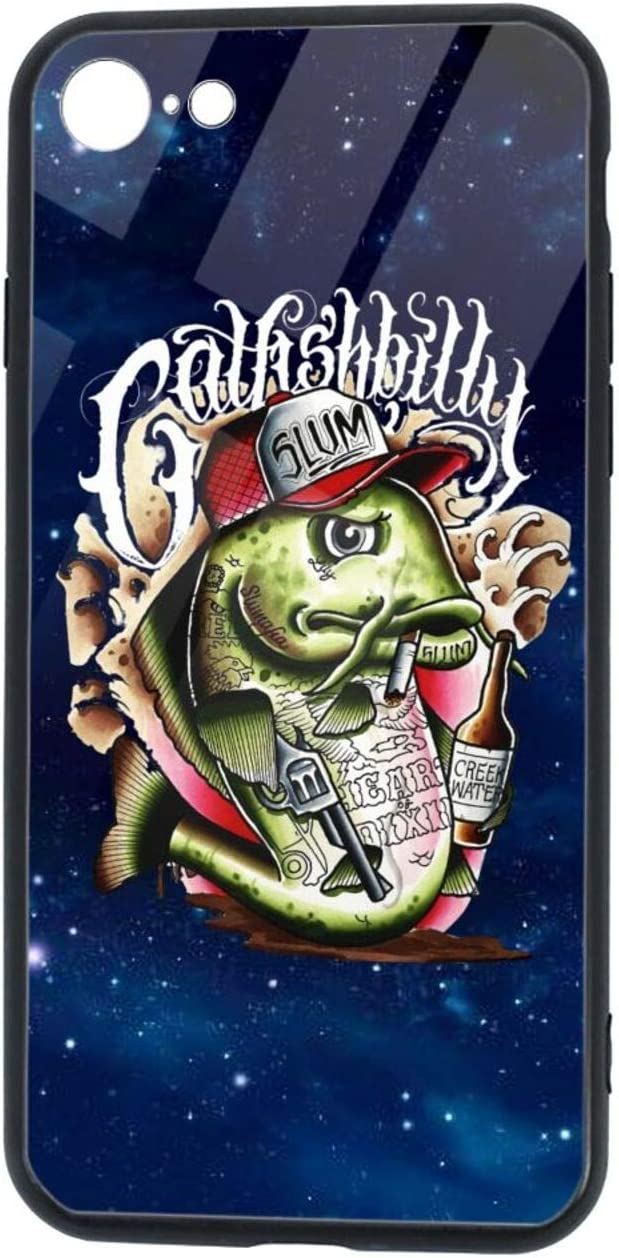 Kemeicle Yelawolf Posters iPhone Se 2020 Case iPhone 7/8 TPU Glass Shell