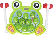 Huggler Whack a Frog Interactive Toy, Toddler Toys for 2,3,4,5,6,7,8 Year-Old Boys and Girls, Early Developmental Stem Toy,