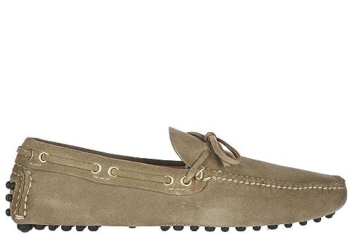 Car Shoe Mocasines en Ante Hombres Beige EU 44 KUD006 LVA F0F24: Amazon.es: Zapatos y complementos
