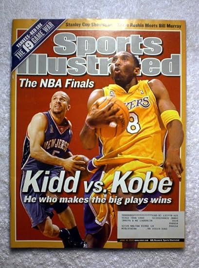 Jason Kidd vs Kobe Bryant - New Jersey Nets vs Los Angeles Lakers - The NBA 923c5eb7c