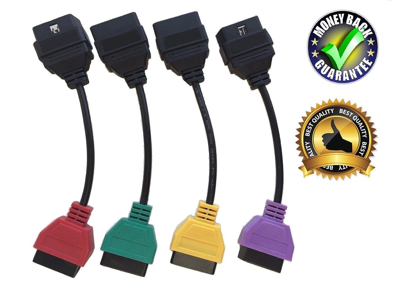 Goldplay MuECUScan Mu ECU Scan OBD2 Adaptador OBD Cables Adaptador Set
