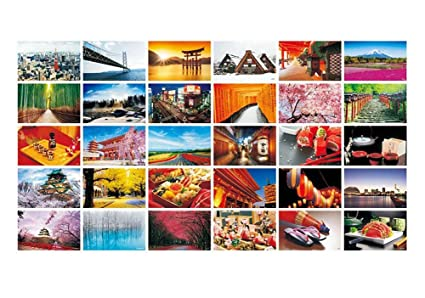 Beautiful World Travel Scenery 30 PCS Artistic Retro Postcards- Japanese