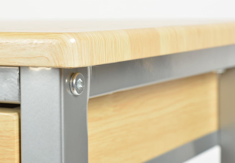 Chariot De Cuisine Roulettes Table D Appoint Pour Cuisine Meuble  # Meuble Pc Sur Roulette Petit Espace
