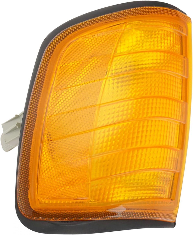 Marker Corner Parking Turn Signal Light Lamp Pair Set for Freightliner Mercedes