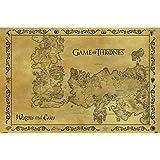 GAME OF THRONES ゲーム・オブ・スローンズ Antique Map/ポスター 【公式/オフィシャル】
