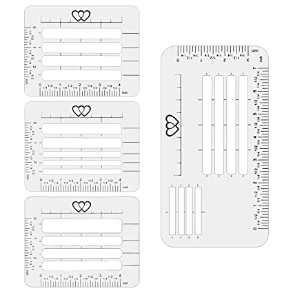 Letter Addressing Stencil.Aiex 4pcs 4 Style Envelope Addressing Guide Plastic Stencil Templates For Letter Greeting Cards Recipe Cards Thank You Notes Holiday Cards