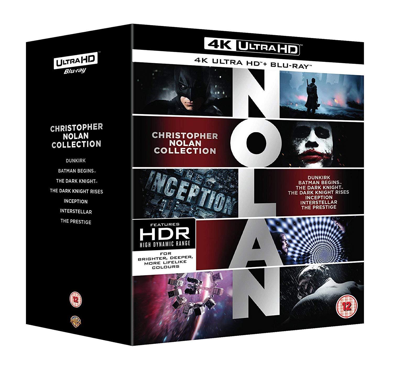 Nolan 4K Collection Edizione: Regno Unito Italia Blu-ray: Amazon.es: Cine y Series TV