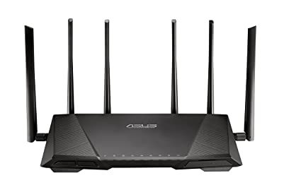 Amazon.com: ASUS AC3200 Tri-Band Gigabit WiFi Router, AiProtection