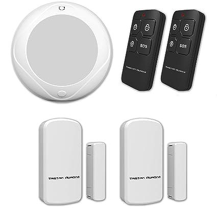 Tristan Auron Alarma Shield Watcher Kit WiFi Radio App RFID GSM Vigilancia Detector de movimiento Smart