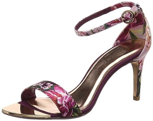 5083f3c9d5c0 Ted Baker London Women s Mylli Open Toe Heels  Amazon.co.uk  Shoes ...