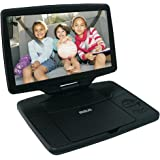 "RCA 10"" Portable DVD Player with Swivel Display (DRC98101S) - Black (Certified Refurbished)"