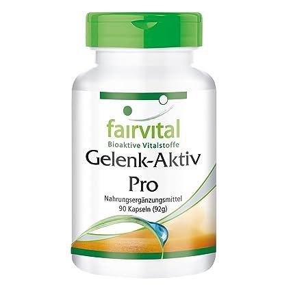 Conjunto Activo Pro - 1 mes - ALTA DOSIS - 90 cápsulas - con la glucosamina