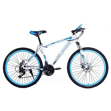 Riscko Bicicleta Mountain Bike de Aluminio Modelo Safari con Ruedas de 26 Color Azul
