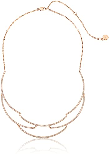 1ffd4228f21ddb Amazon.com: Michael Kors Wanderlust Rose Gold-Tone Statement ...