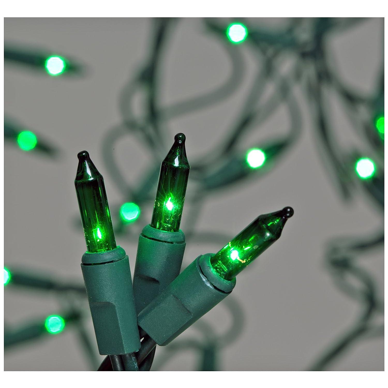 Amazon.com: 100-Count Green Christmas Light Set: Home Improvement