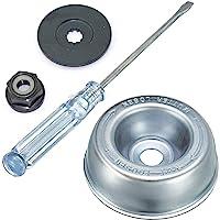 Gardening Machine Lawnmover Stihl Blade Adapter Kit- Thrust Washer, Rider Plate, Collar Nut, Maintenance Screwdriver…