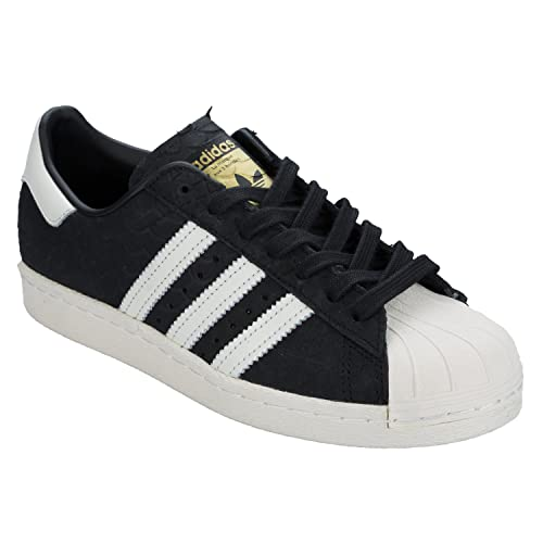 big sale 9c209 e1ff6 Scarpe Donna Adidas Originals Superstar 80s W S76411 Nero, 43 MainApps