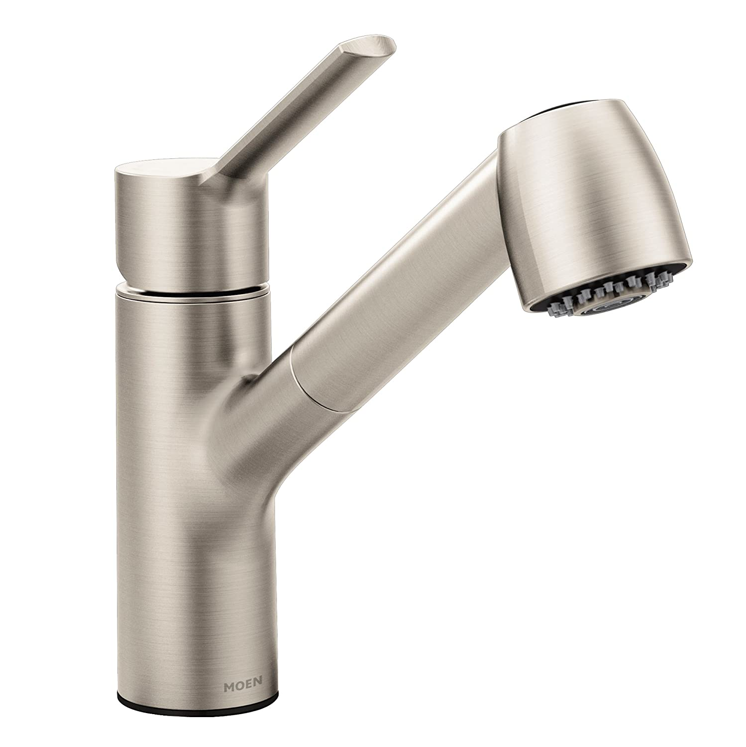 Moen 7585SRS Method One-Handle Pullout Kitchen Faucet, Spot Resist Stainless