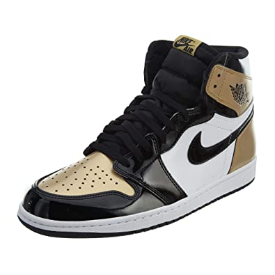 37fe35b4c1d4c4 Air Jordan 1 Retro High OG NRG  quot Gold Toe quot  ...