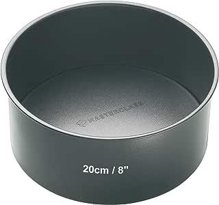 20cm Round Non Stick Loose Base Deep Cake Pan