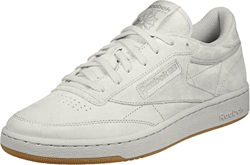 Culpable saltar Favor  Buy Reebok Classics Men's Club C 85 Tg Steel and Carbon Gum Leather Tennis  Shoes -10 UK/India (44.5 EU) (11 US) at Amazon.in