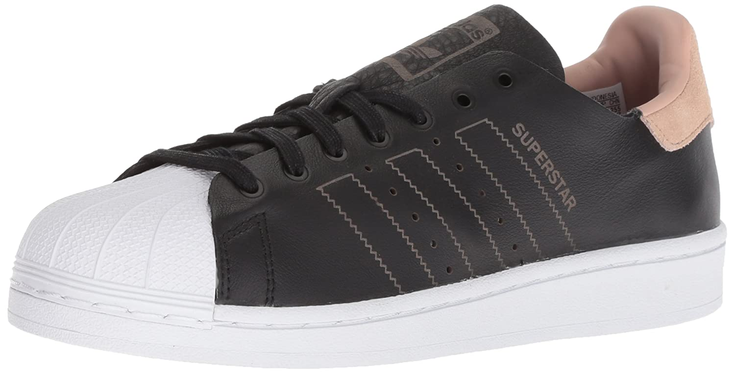 adidas Originals Women's Superstar Decon Shoes B01NAJ8TVR 10 M US|Black/Black/White