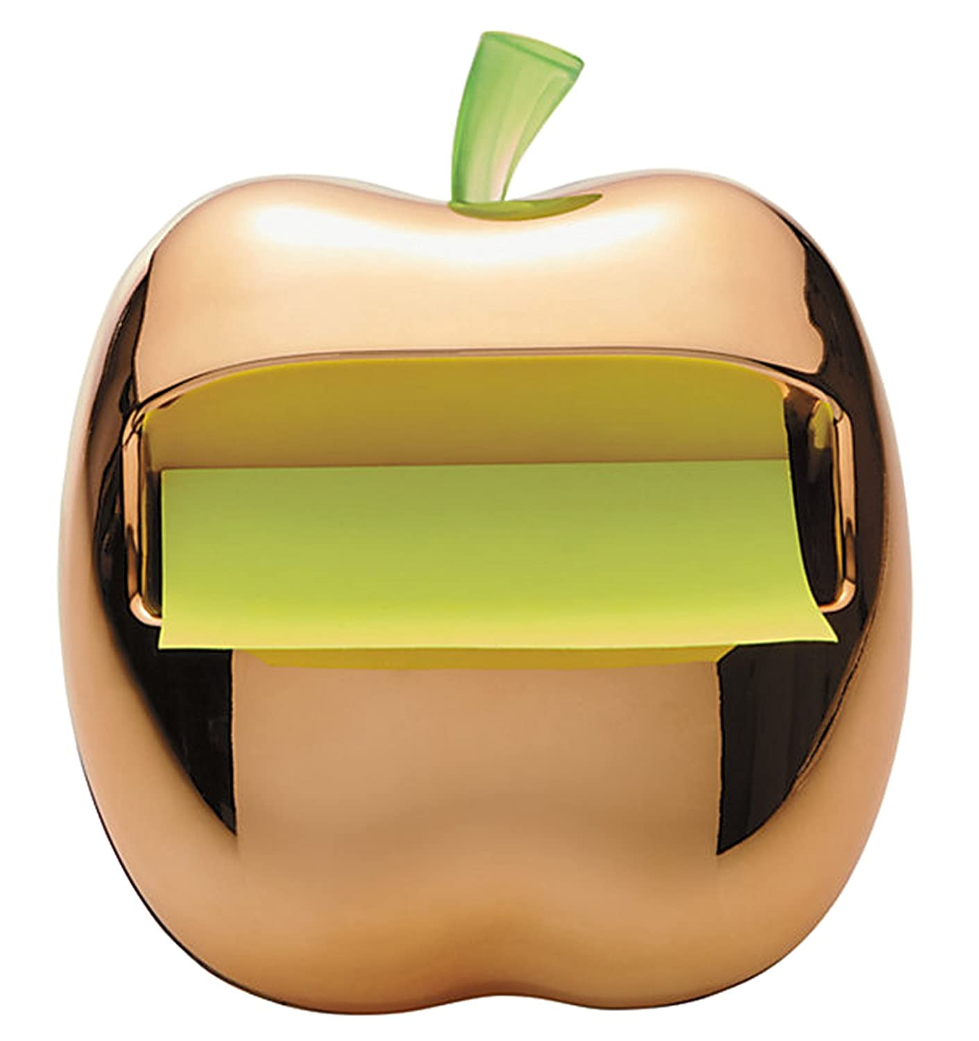 Amazon.com : Post-It Gold Apple Pop-Up Note Dispenser for 3 x 3-Inch Notes, Includes 1 Can... : Office Products