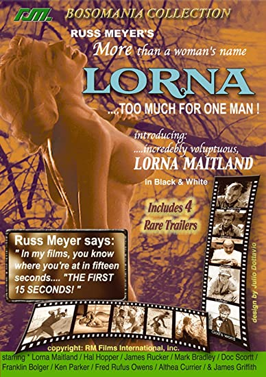 Amazon com: Russ Meyer's Lorna: Lorna Maitland, Hal Hopper