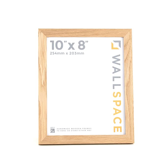 Multi App Photo Frame Oak-Holds 3 x 8/'/'X6/'/' Choose from 4 mount colours