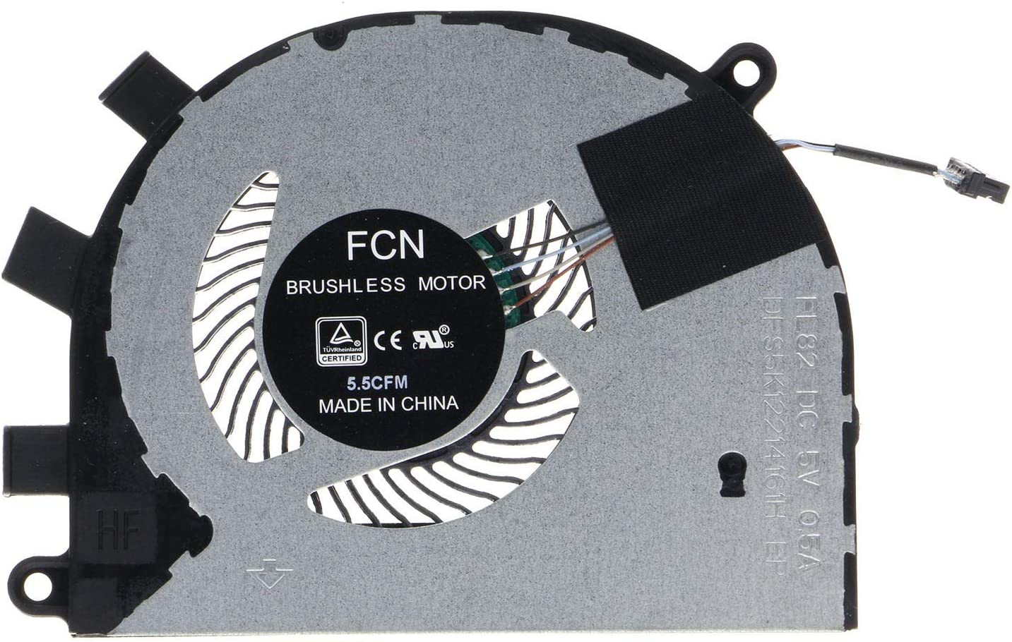 CPU Cooling Fan for Dell Inspiron 5584 15-5584 Dell Latitude 3400 3500 0T6RHW