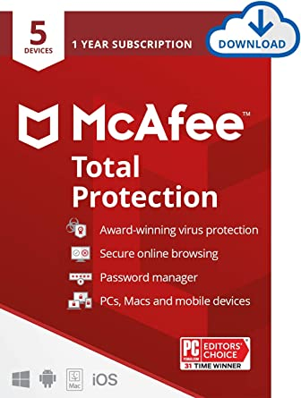 McAfee Antivirus Total Protection