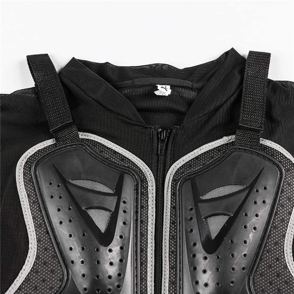 SJAPEX Motorcycle Armor Vest Chest Back Spine Protector Touring Motocross Off-Road Racing Cycling Body Guard