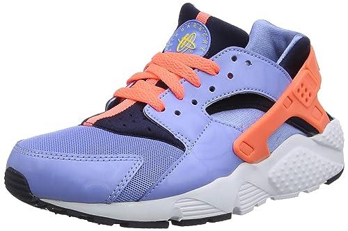 NIKE Air Huarache Run Junior Kinder Sneaker Blau