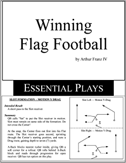 Amazon flag football plays the easiest most powerful flag winning flag football essential plays fandeluxe Gallery