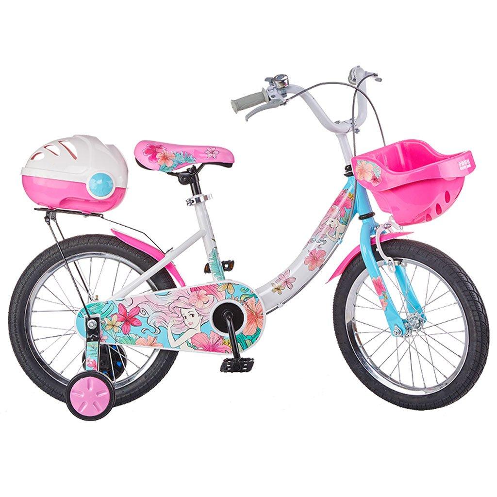 子供用自転車3-6歳のガールズバイク14インチ自転車ハイカーボンスチールベビーカー、ピンク/カラー (Color : Color)   B07CV9DRKN
