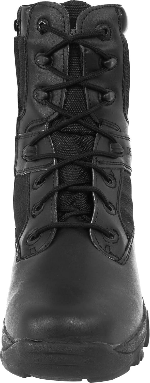 Normani Taktische Herren Einsatz Stiefel Delta Force Wildleder Farbe Farbe Farbe Schwarz Größe 41 EU a51735