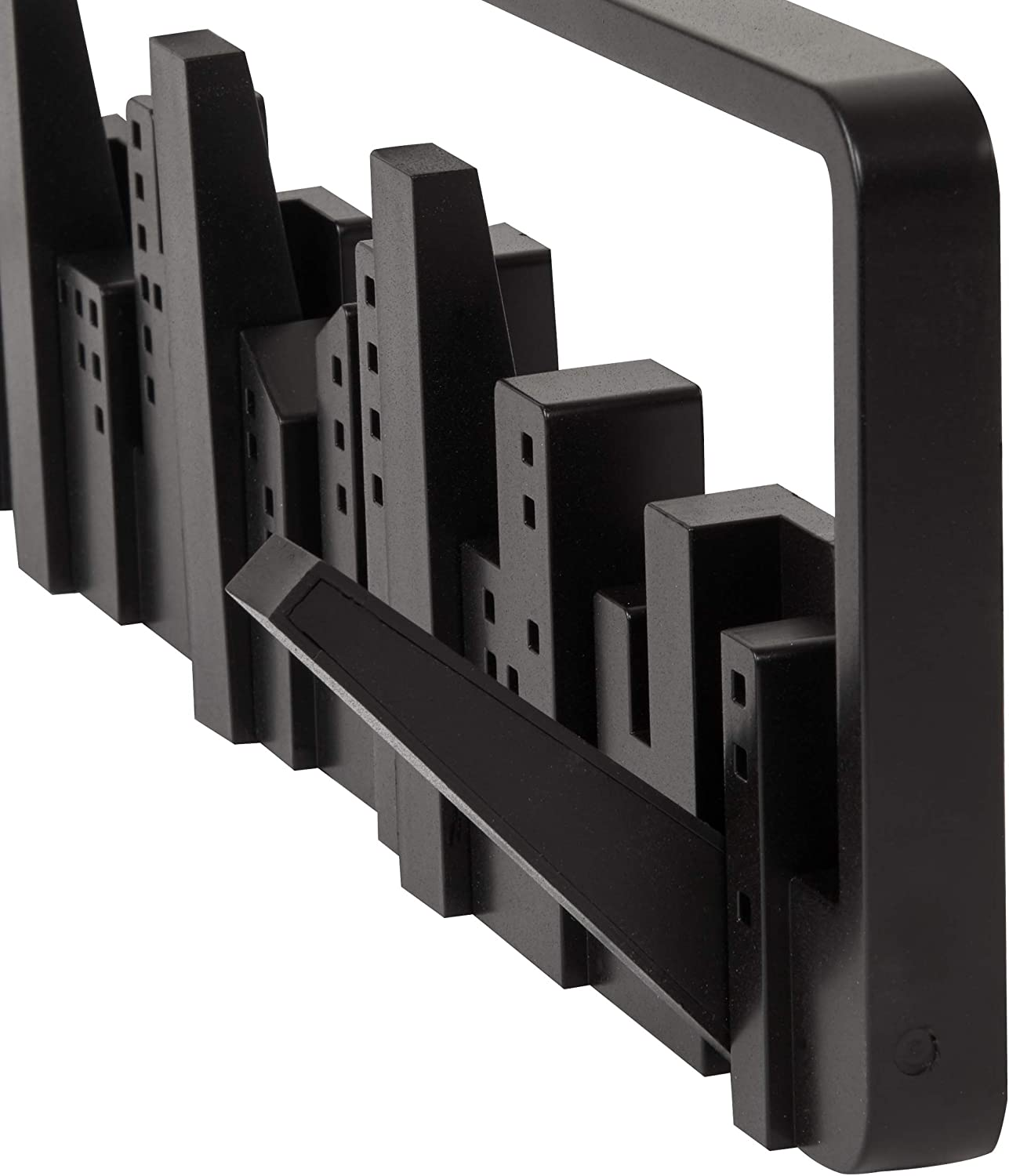 Umbra Skyline Wall-Mounted Hook System, Black Black