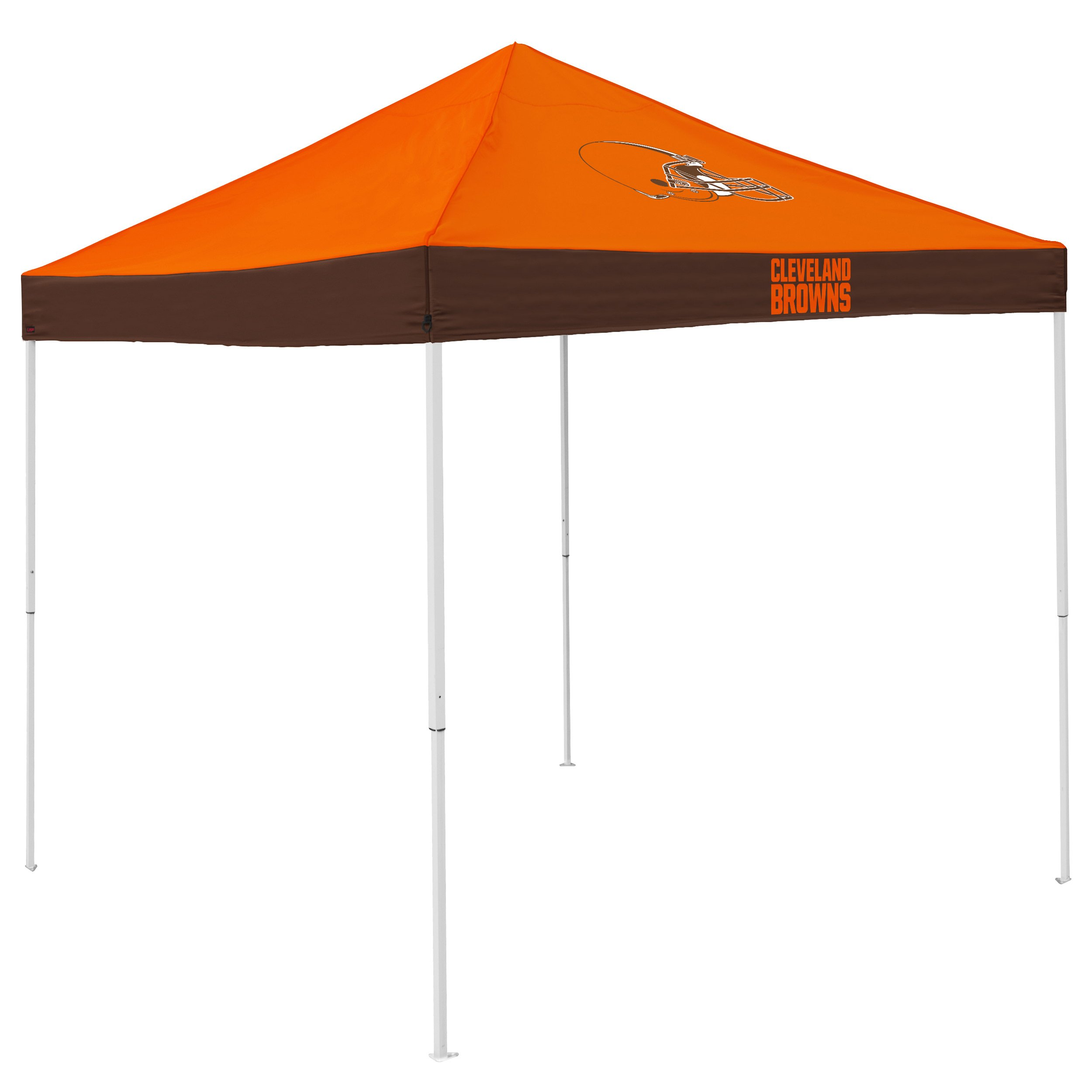 Logo Brands NFL Cleveland Browns Economy Tent, Orange, One Size