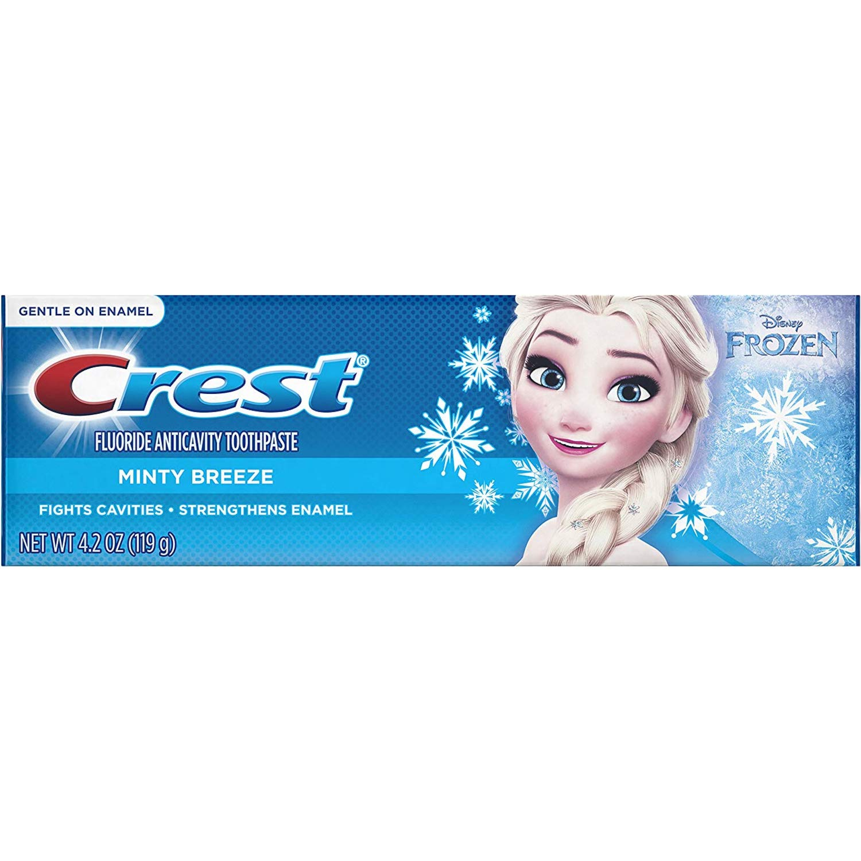 Crest Pro Health Jr Toothpaste Frozen Minty Breeze Pack of 3
