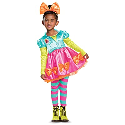 Disguise Neon QT L.O.L. Surprise Classic Girls' Costume: Toys & Games
