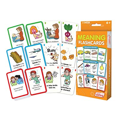 Junior Learning Meaning Flashcards: Toys & Games